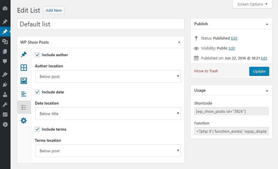"""The """"Meta"""" settings tab."""