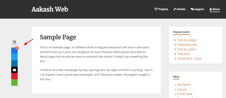 WP Socializer – WordPress plugin | WordPress org