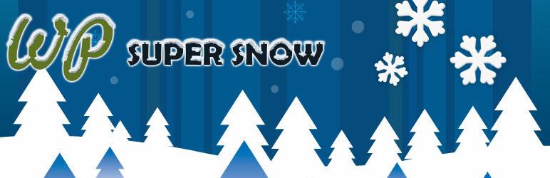 WP Super Snow (Falling Snow, Customizable)
