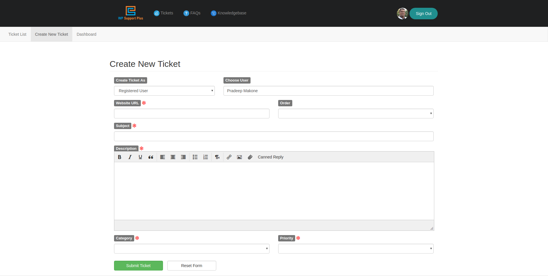 wp support plus responsive ticket system wordpress org