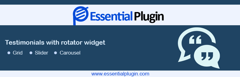 WP Testimonials with rotator widget