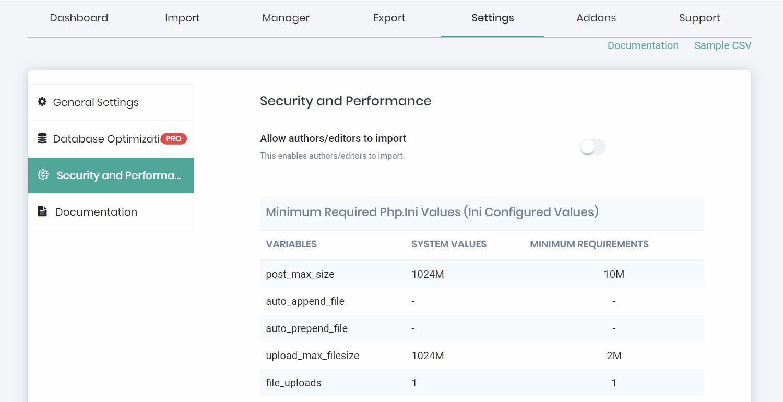 Import Export Post as CSV File – WordPress plugin | WordPress org