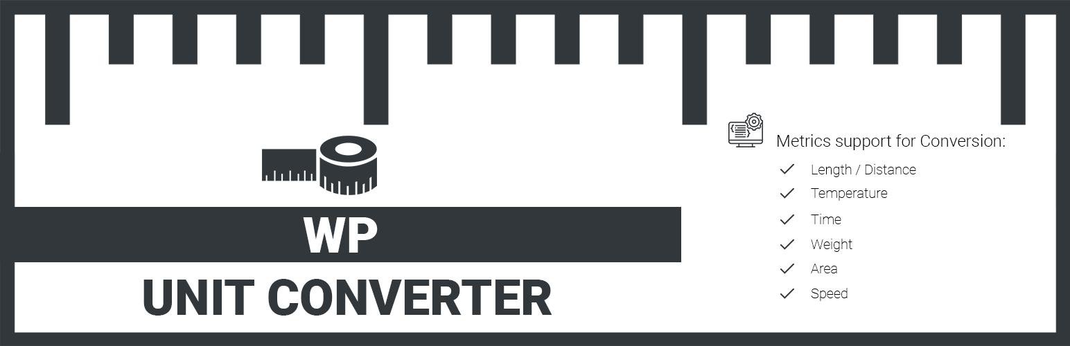 WP Unit Converter