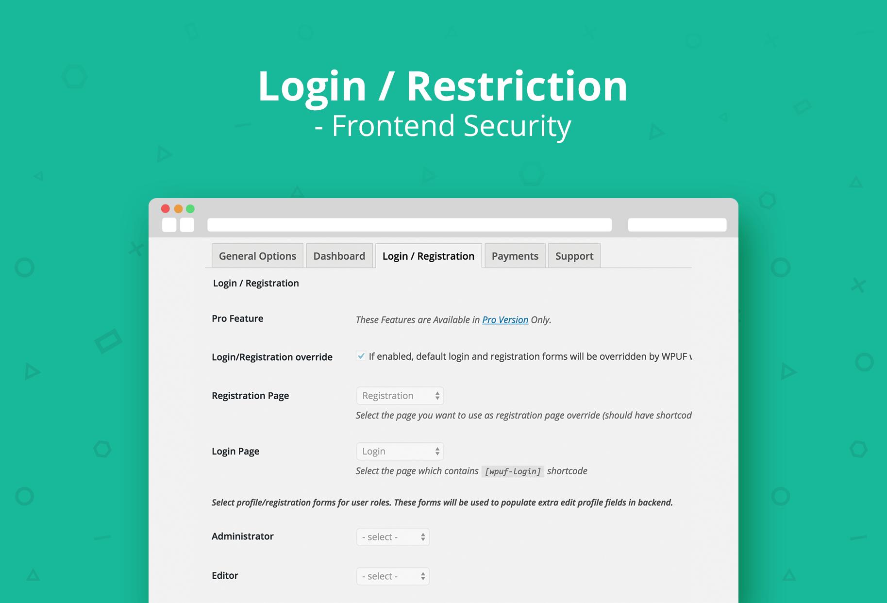 WP User Frontend – Membership, Profile, Registration & Post ...
