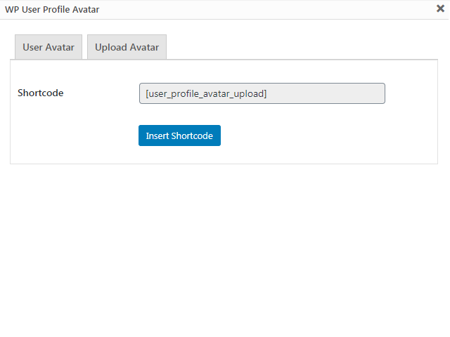 <p>After refresh page show remove uploaded avatar option.</p>