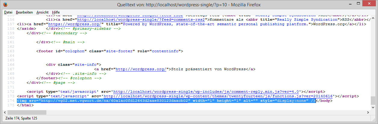 wp-vgwort screenshot 7