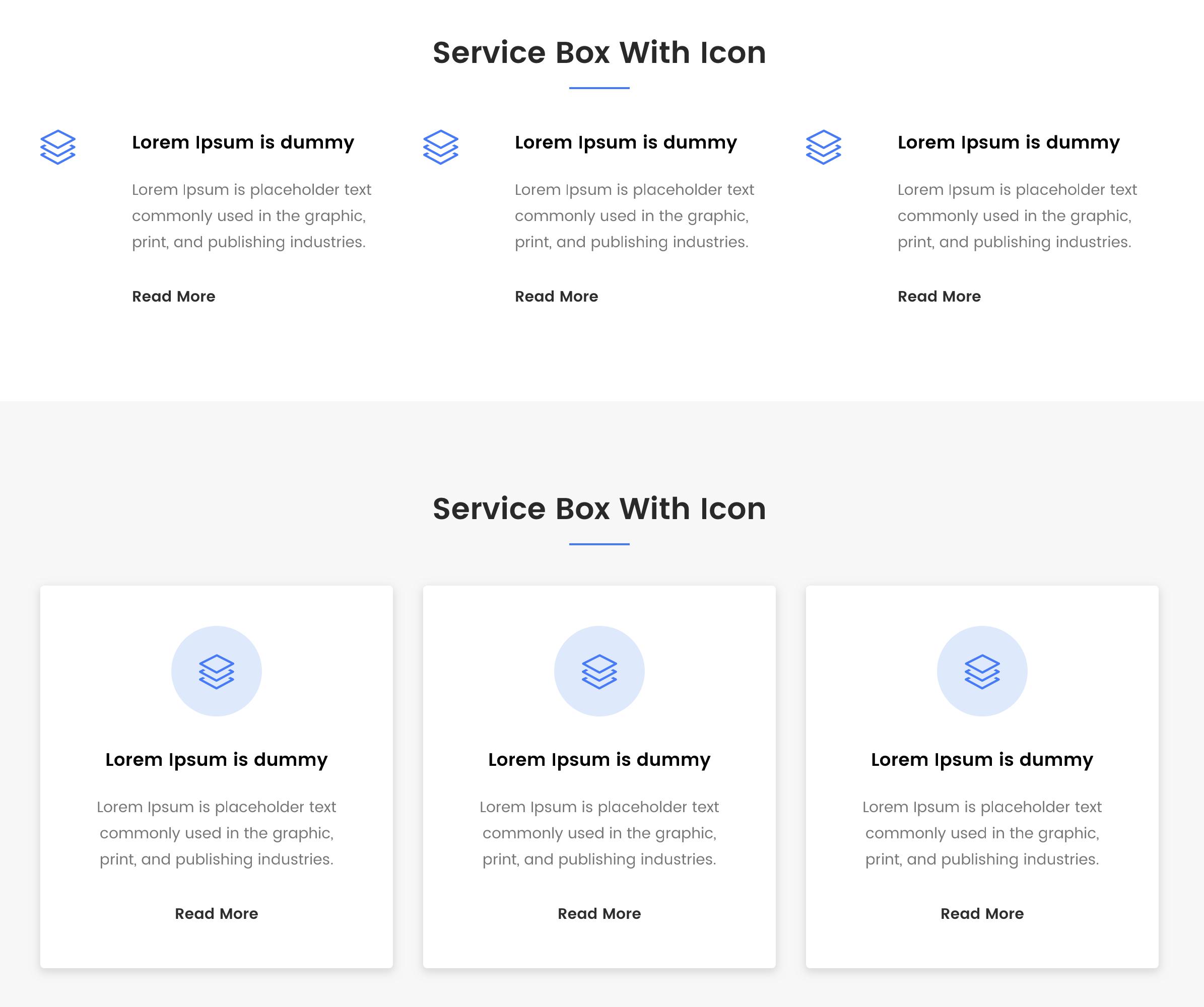 Service Box.