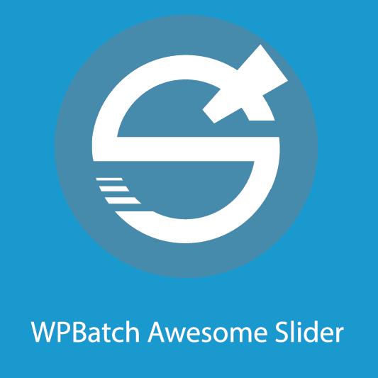 WPBatch Awesome Slider logo