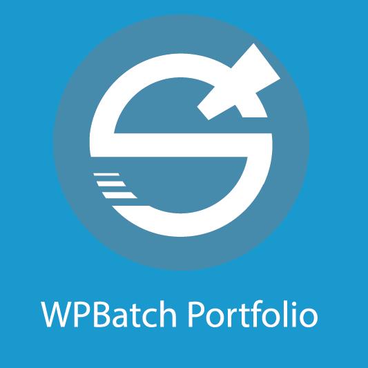 wpbatch-portfolio logo
