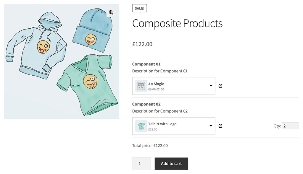 WPC Composite Products for WooCommerce
