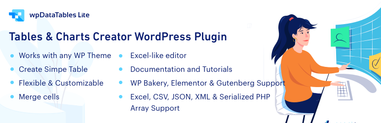 wpDataTables Lite – WordPress Table Plugin