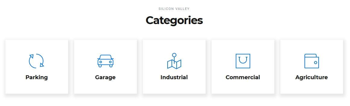 Elementor Categories Widget / Element
