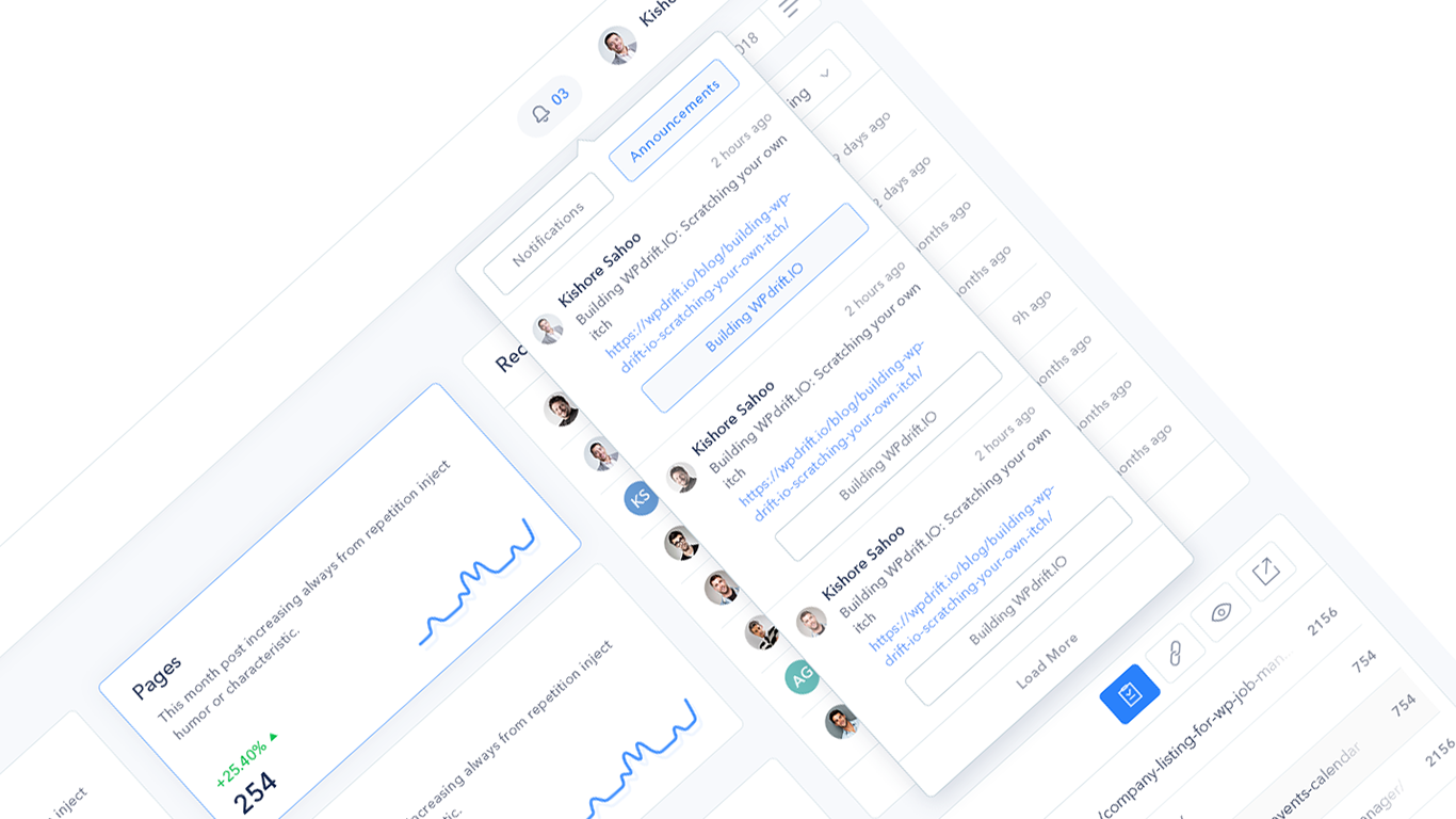 Notifications and Announcements