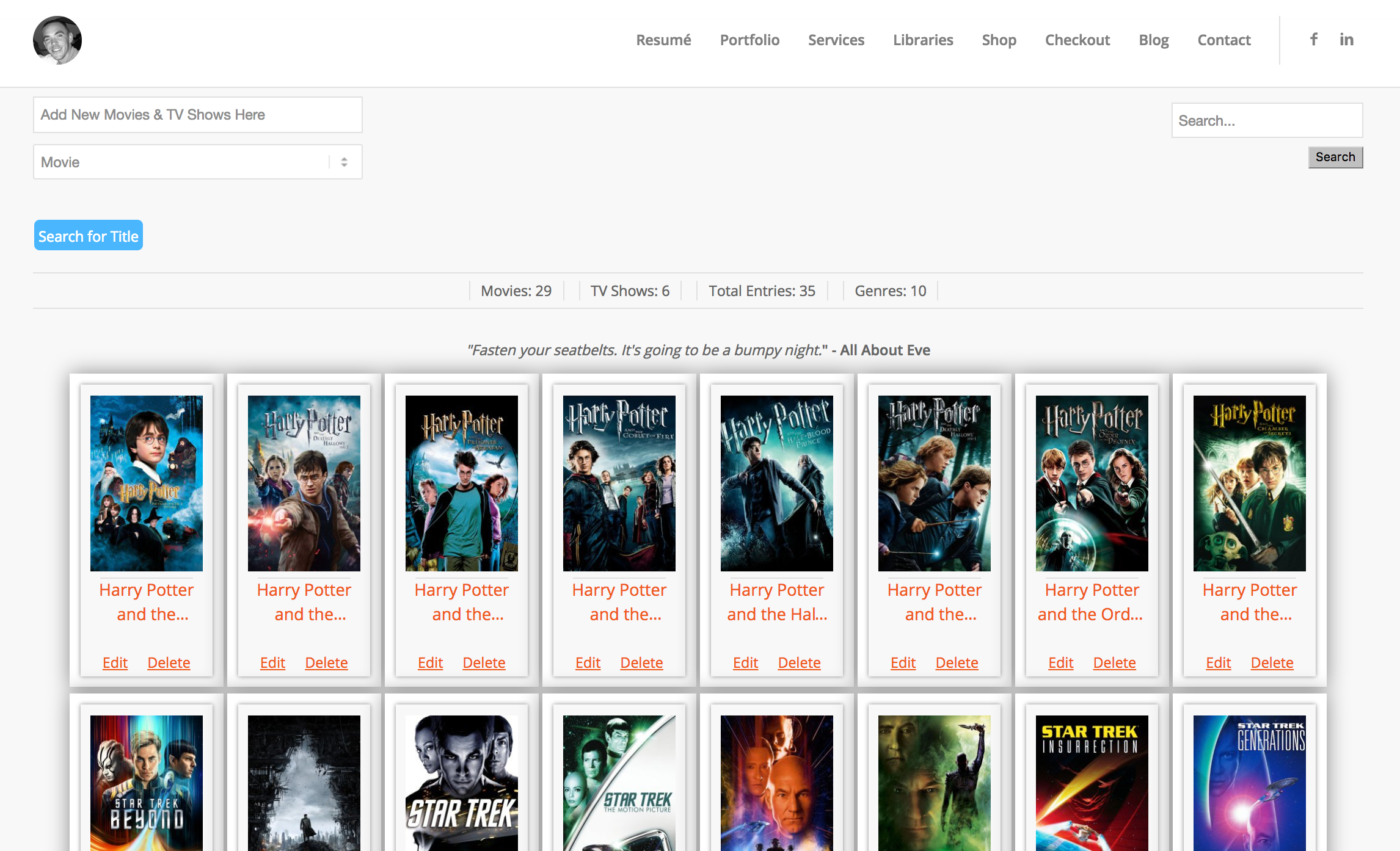 "How your Movies & TV Shows will appear on your website. WPFilmList uses most of the default styling of your currently active theme. The Quotation section is only available with <a href=""https://www.jakerevans.com/shop/"">WPFilmList Premium</a>."