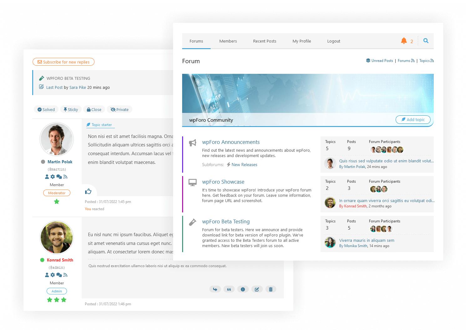 wpForo Forum – WordPress plugin | WordPress org