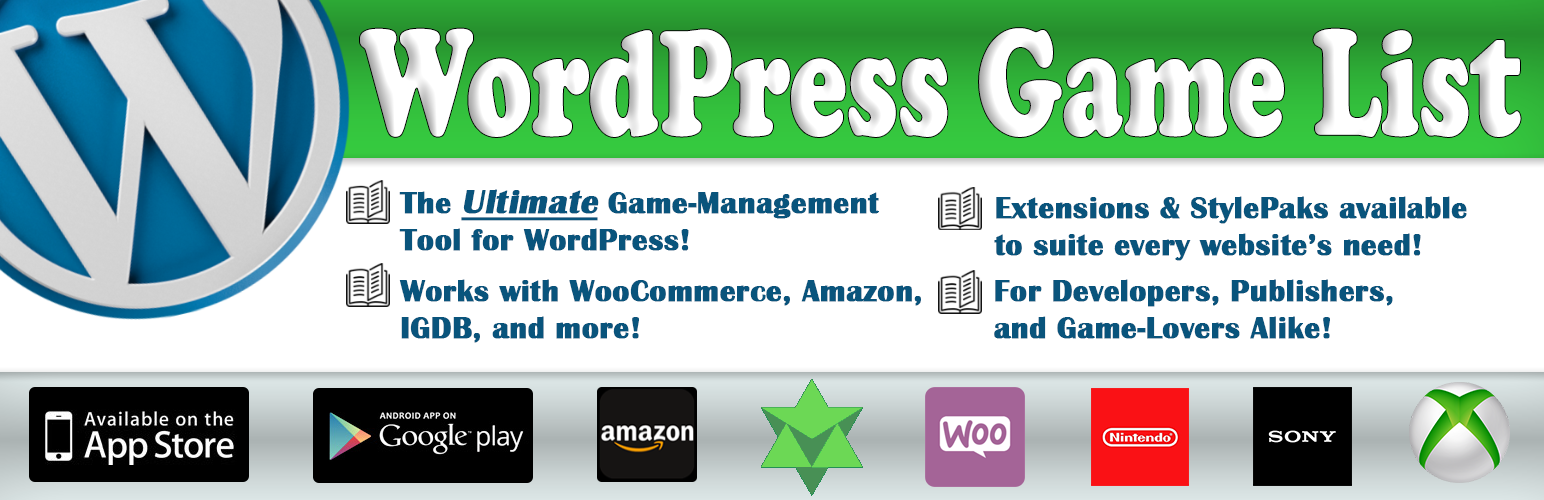 WordPress Game List