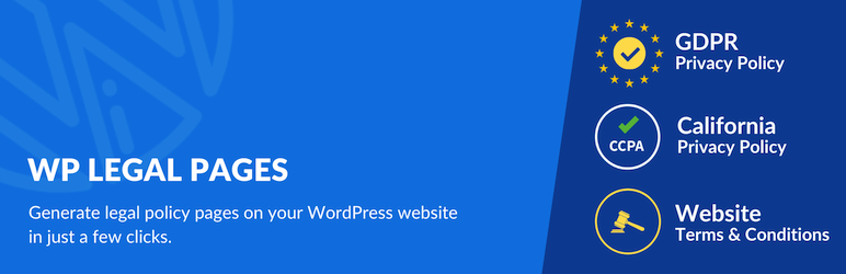 Privacy Policy Generator, Terms & Conditions Generator WordPress Plugin : WPLegalPages