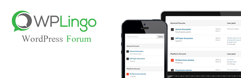 WPLingo – Forum Plugin