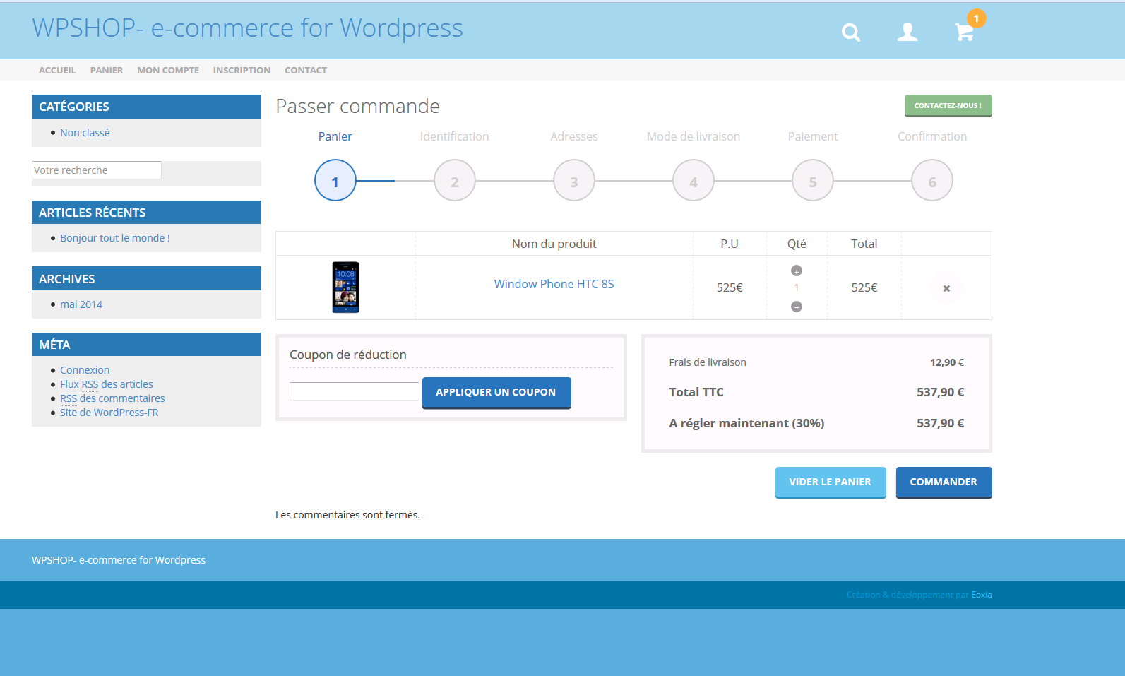 wpshop screenshot 4