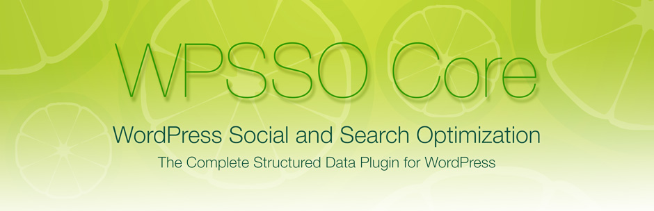 WPSSO Core (The Complete Meta Tag and Schema Markup Solution)