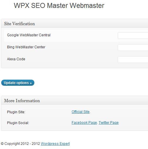 Site verification display