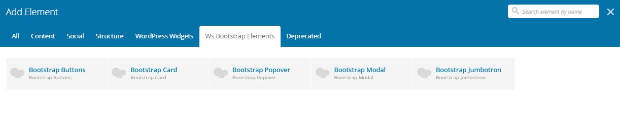 WS Bootstrap – WordPress plugin   WordPress org