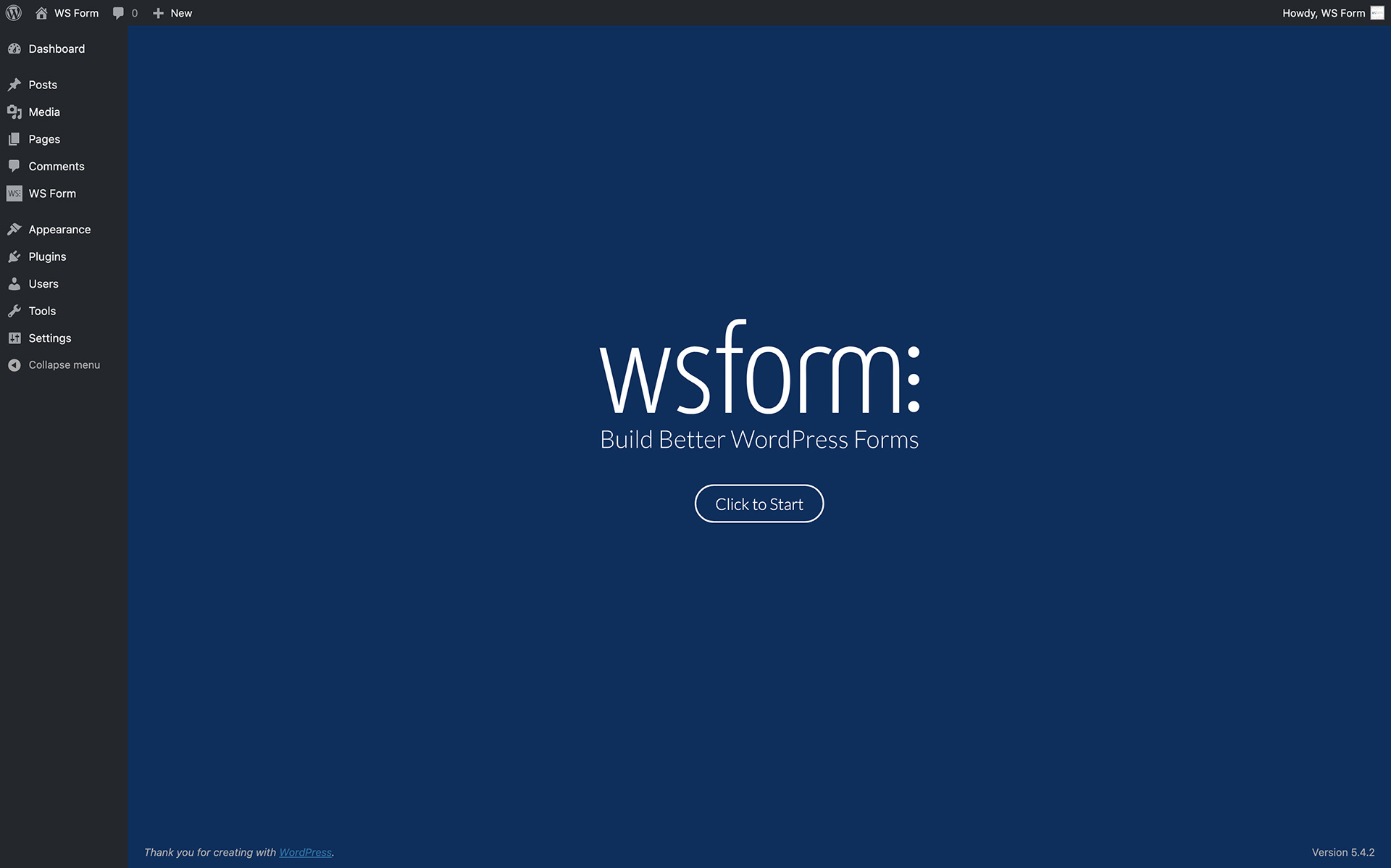 WS Form – Build Better WordPress Forms – WordPress plugin