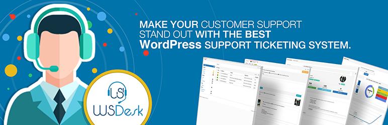 Wsdesk WordPress Helpdesk Support Ticket System Plugins