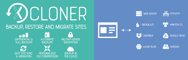 Backup, Restore and Migrate WordPress Sites With the XCloner Plugin