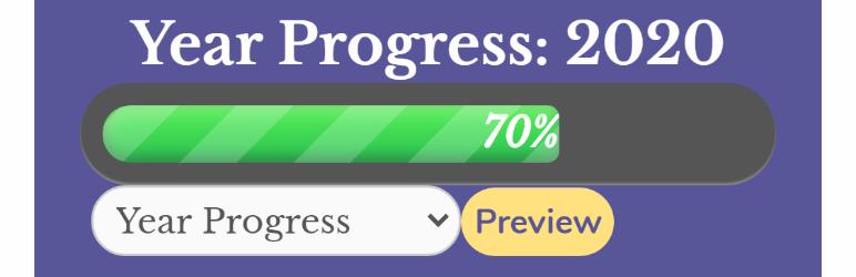Year Progress Bar