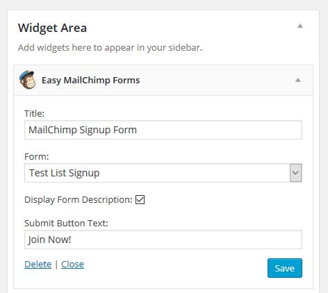 Form Widget
