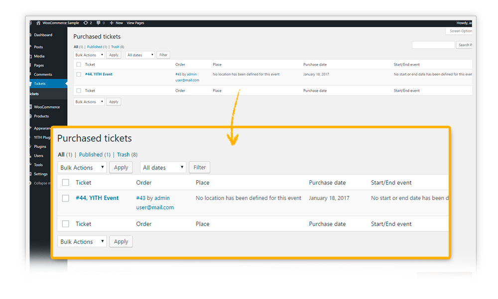 YITH Event Tickets for WooCommerce   WordPress.org