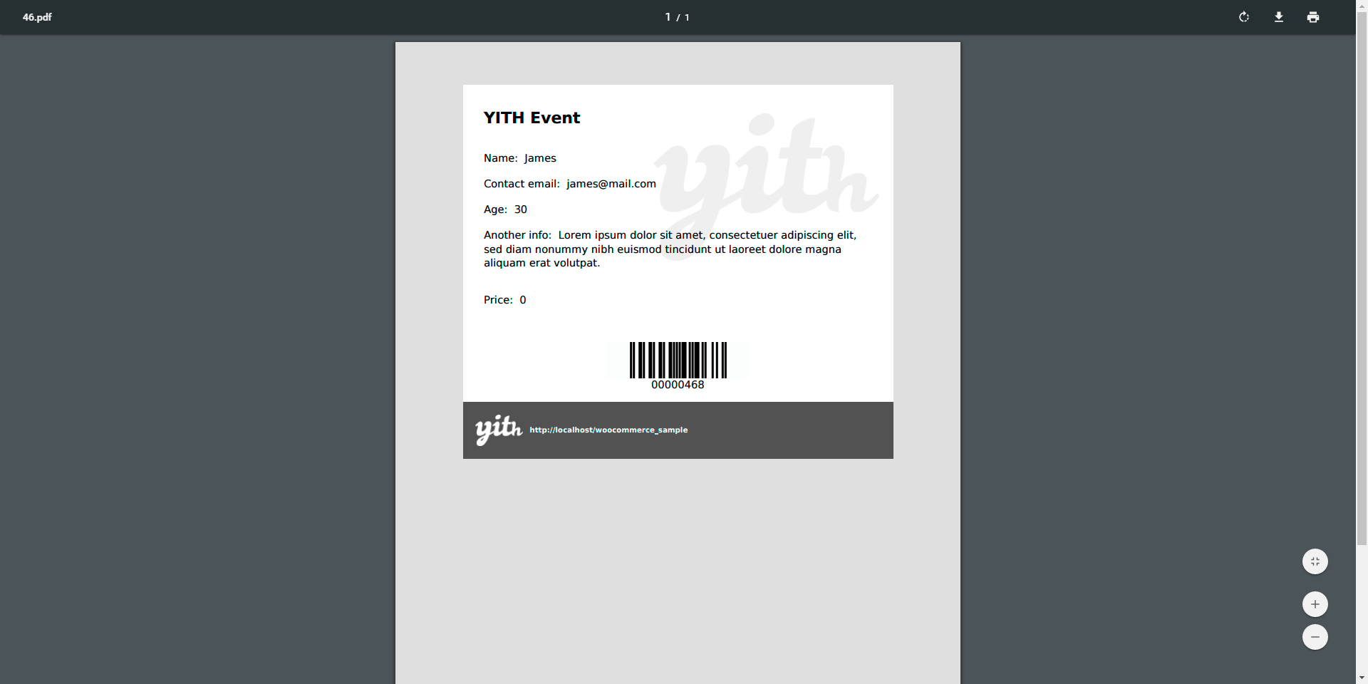 yith event tickets for woocommerce wordpress org