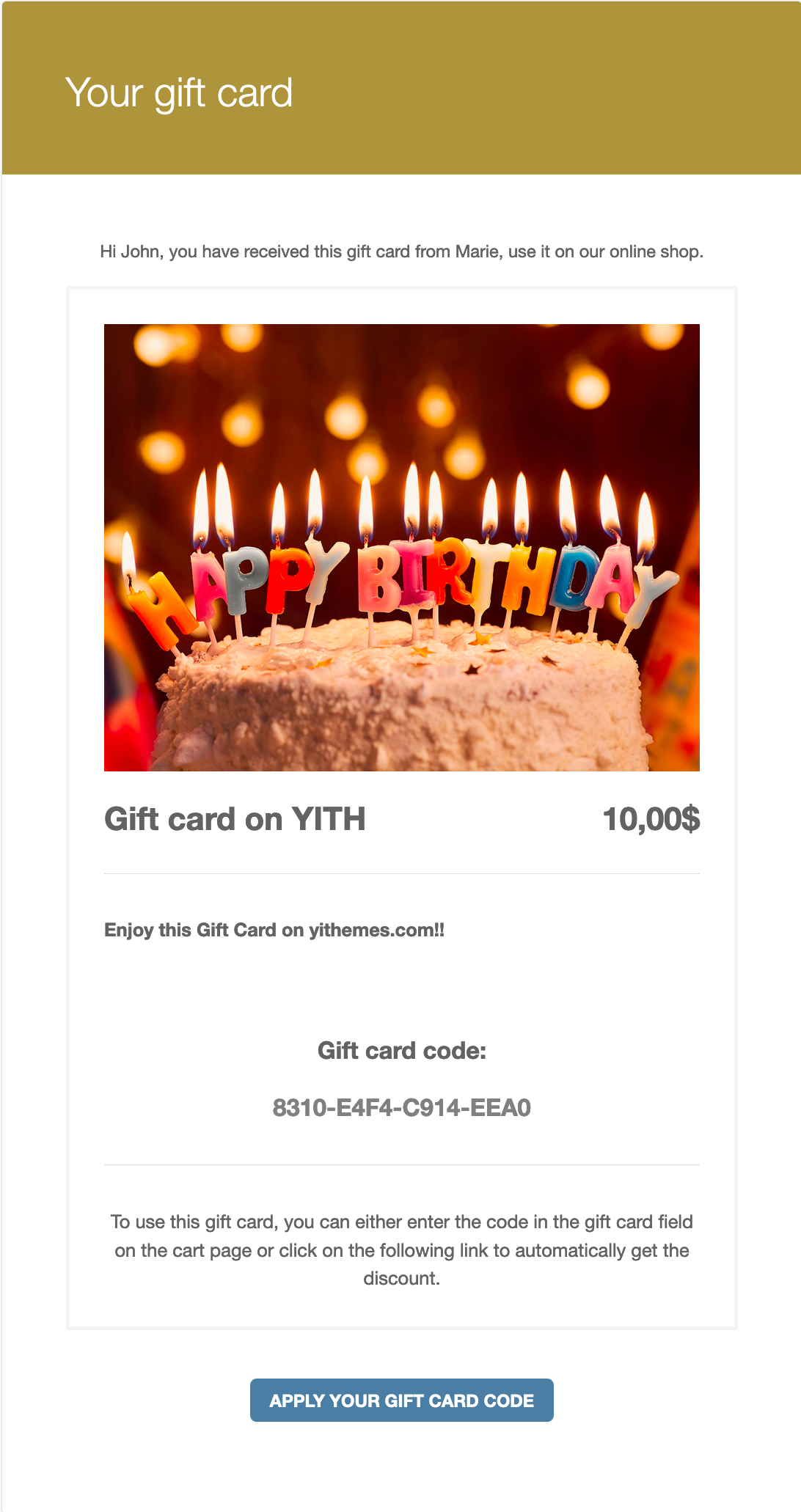Yith woocommerce gift cards wordpress screenshots set a product as gift card negle Image collections