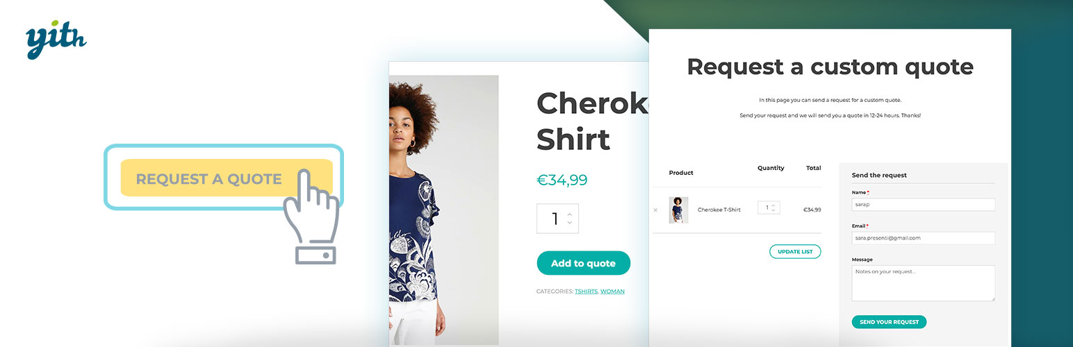 YITH WooCommerce Request A Quote WordPressorg Stunning A Quote