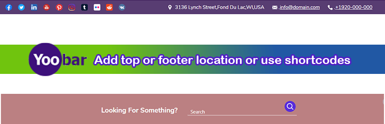 Yoo Bar – Notification Bar Plugin