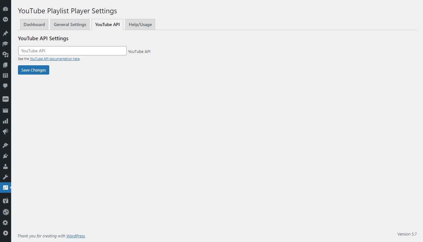 YouTube Playlist Player – WordPress plugin   WordPress org
