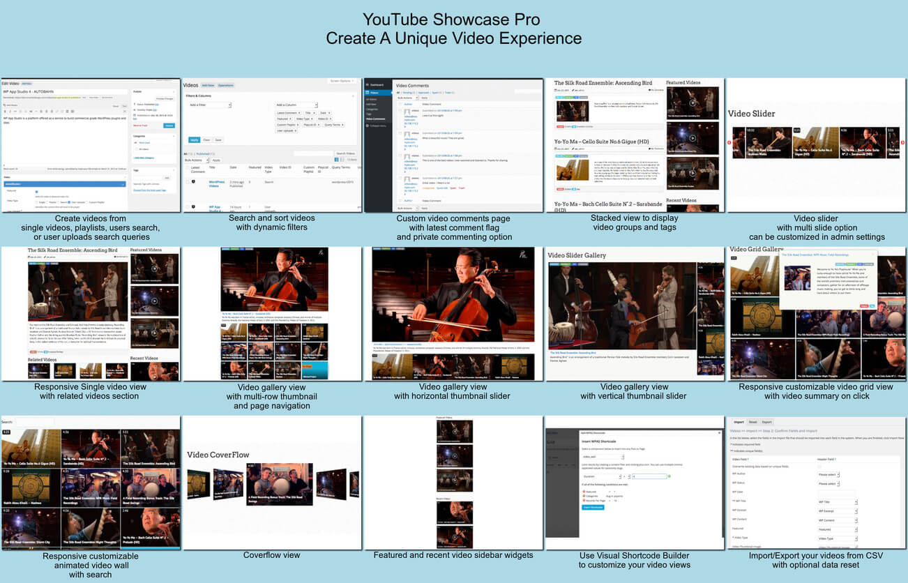 YouTube Gallery – Best YouTube Video Gallery for WordPress