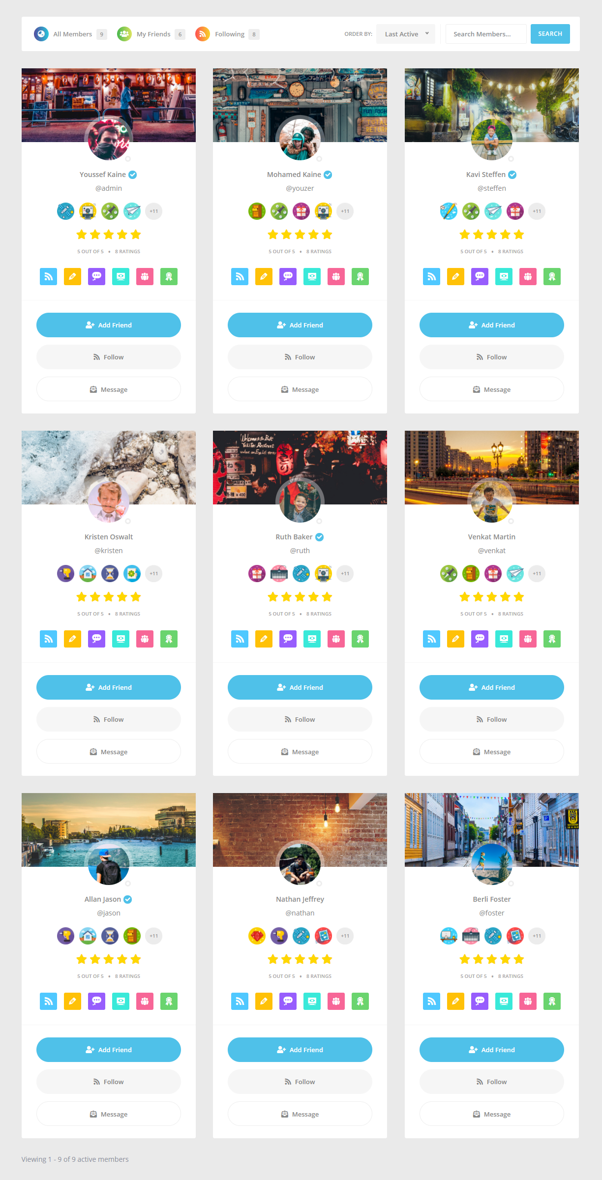 Youzify – BuddyPress Community, User Profiles, Social Network Plugin for WordPress