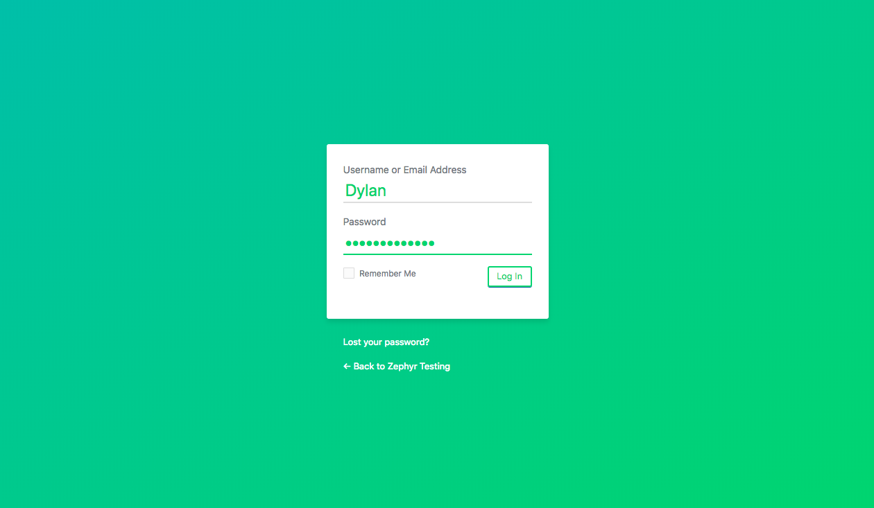 The login screen is also redesigned and blends in seamlessly with the rest of the dashboard