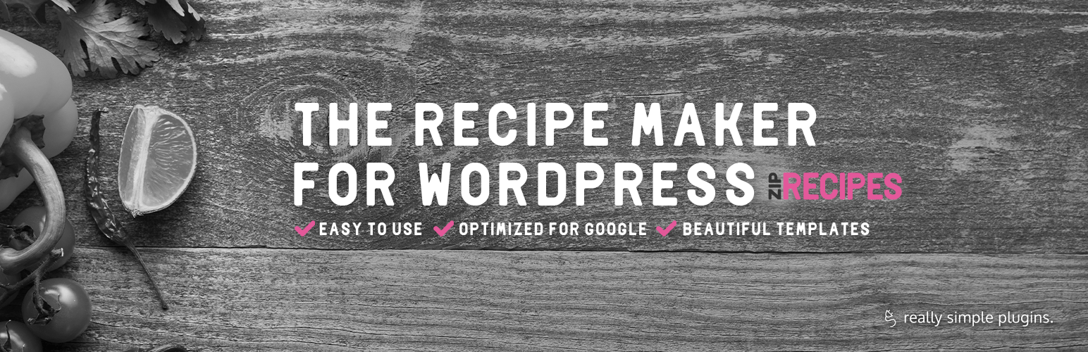 Recipe Cards For Your Food Blog from Zip Recipes – WordPress plugin