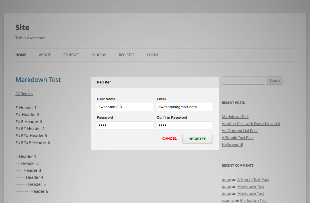 zm-ajax-login-register screenshot 5