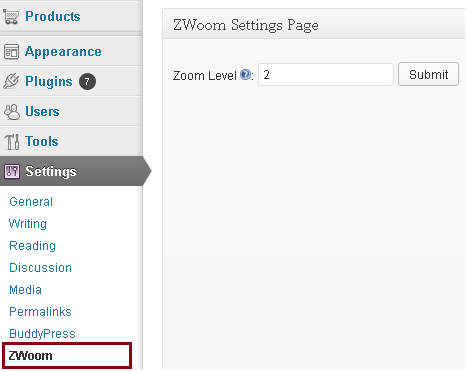 zwoom-woocommerce-product-image-zoom-extension-by-wisdmlabs screenshot 1